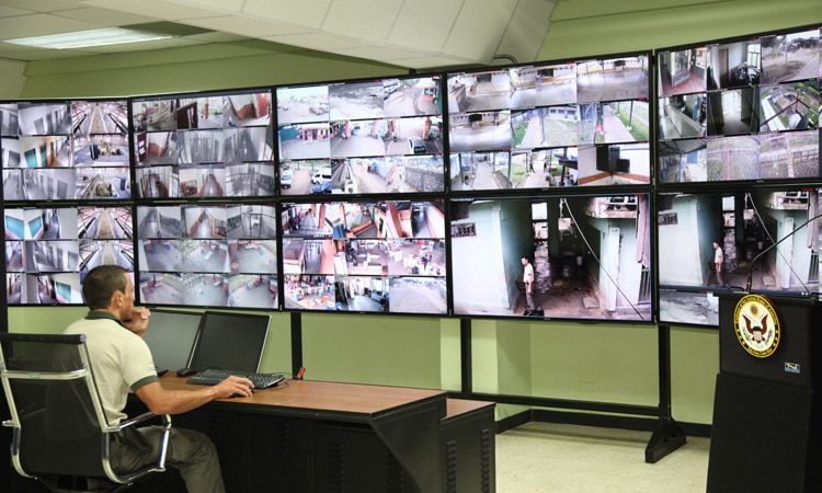 New video monitoring control room for La Reforma