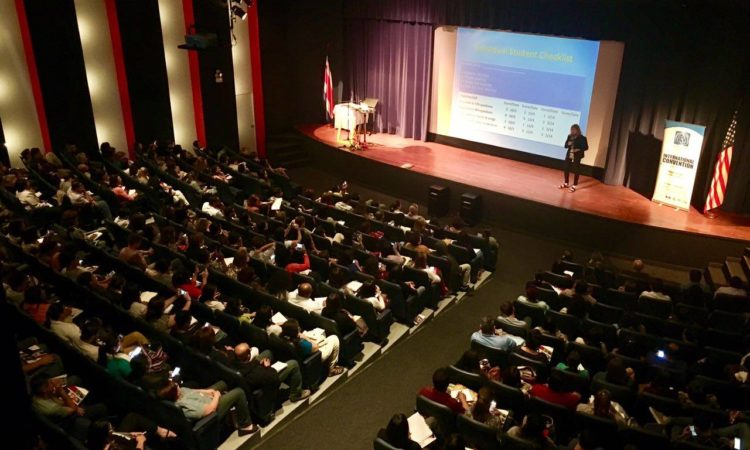 The National Conference of English Teachers took place at the BNC auditorium.