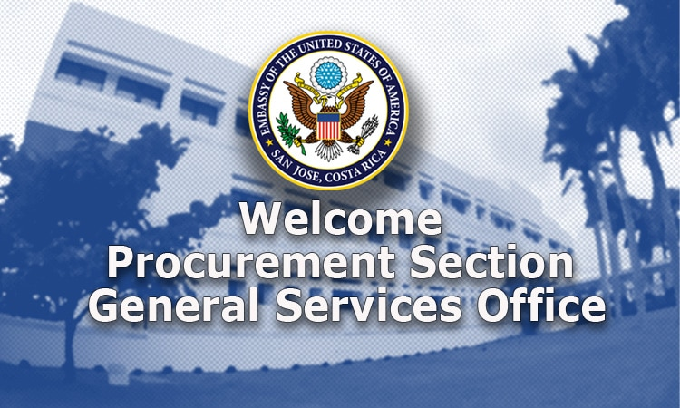 Welcome to the Procurement Section at the General Services Office