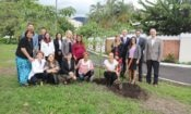 In commemoration of World Environment Day, Ambassador Day and representatives from the Costa Rican government and environmental organizations planted a tree