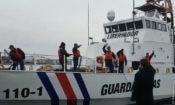 To Costa Rica The Costa Rican Coast Guard crew sail for Costa Rica on April 3 aboard the two Libertador vessels that were donated to the Costa Rican government by the United States. The crew having been trained by their U.S. counterparts are now in command of these vessels.