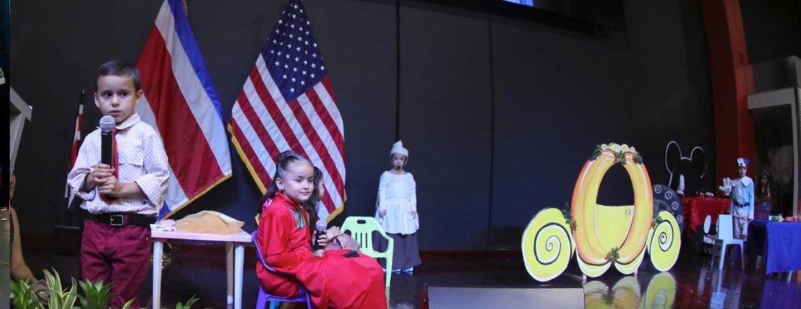 Preschool Students Show Off Their English Proficiency