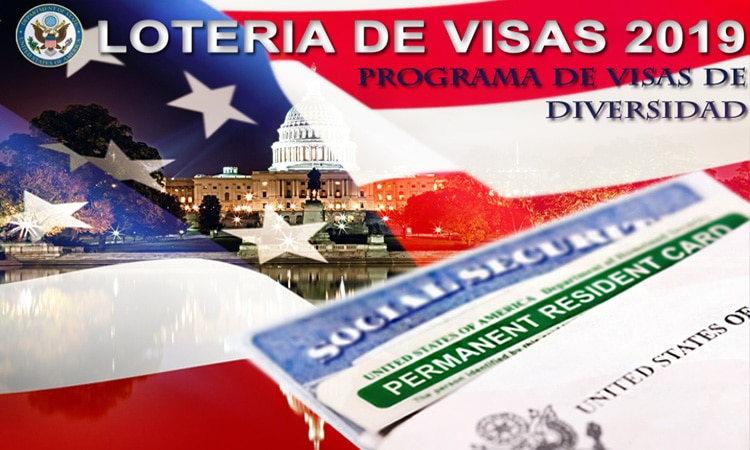 Loteria de visas 2019