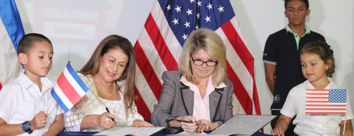Estados Unidos cooperará con el MEP cuatro años más