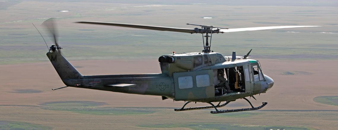 Cuatro helicópteros para Vigilancia Aérea