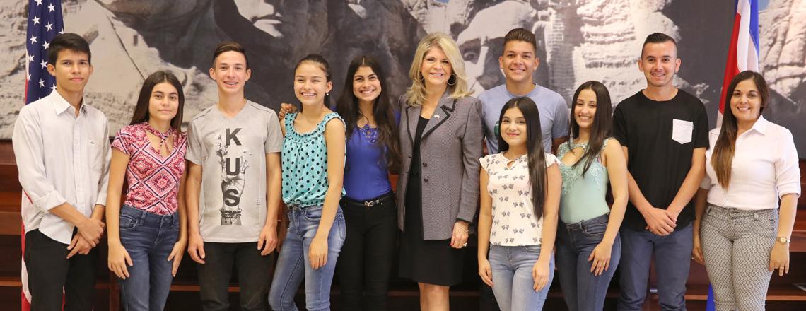 Los nuevos Jóvenes Embajadores son de Pérez Zeledón